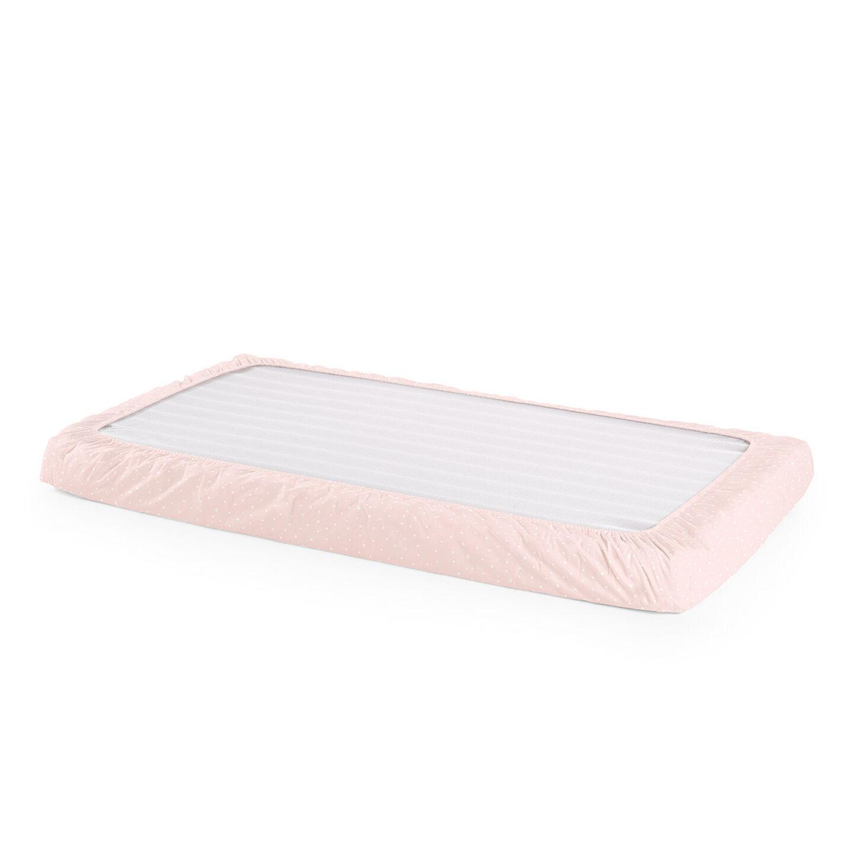 Mattress, Fitted Sheet, Pink Bee