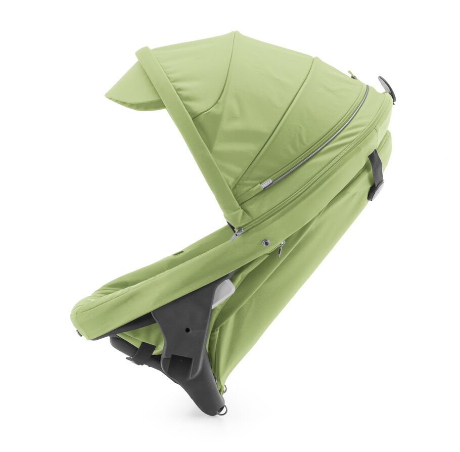 Stokke® Crusi™ Sibling Seat and sparepart seat for Stokke® Scoot™. Light Green.