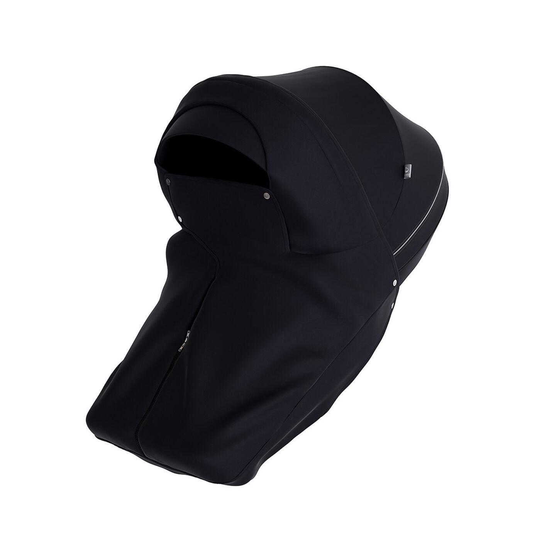 Stokke® Stroller Storm Cover Black, Black, mainview view 1
