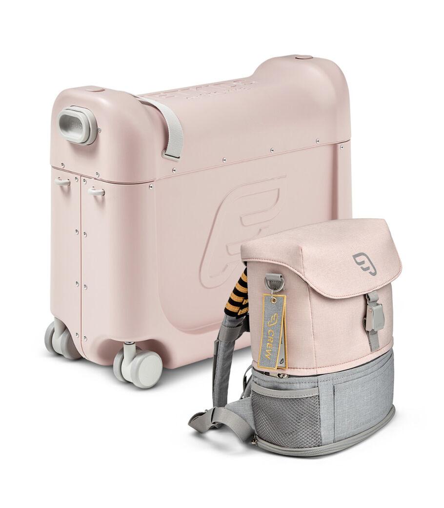 Комплект для путешествий BedBox™ + рюкзак пилота Crew BackPack™, Розовый/Розовый, mainview view 6