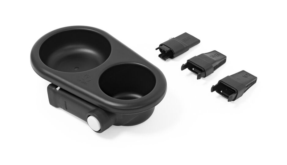 """Stokke® Stroller Snack Tray. """"What's included""""."""