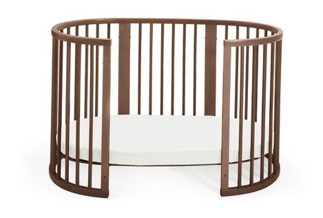 Stokke® Sleepi™ Bed, Walnut Brown.