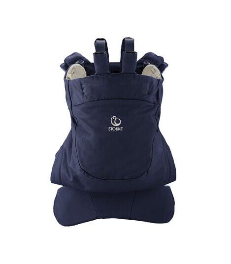 Porte-bébé ventral et dorsal Stokke® MyCarrier™ Deep Blue, Bleu foncé, mainview view 3