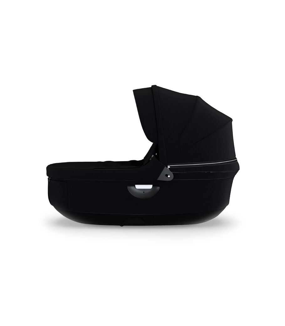 Stokke Stroller Black Carry Cot, Black, mainview view 2