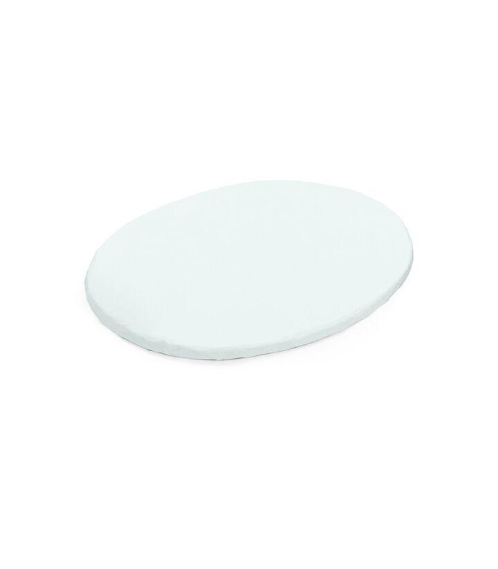 Stokke® Sleepi™ Mini Fitted Sheet, Powder Blue, mainview view 1