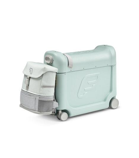 Zestaw podróżny BedBox™ + plecak Crew BackPack™ Zielony/Zielony, Green / Green, mainview view 3