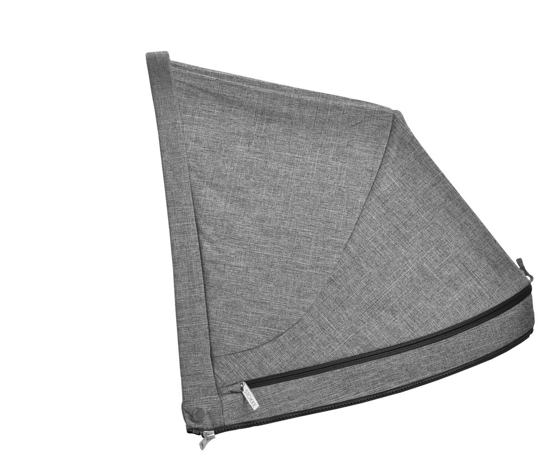Stokke® Stroller cappottina Black Melange, Black Melange, mainview