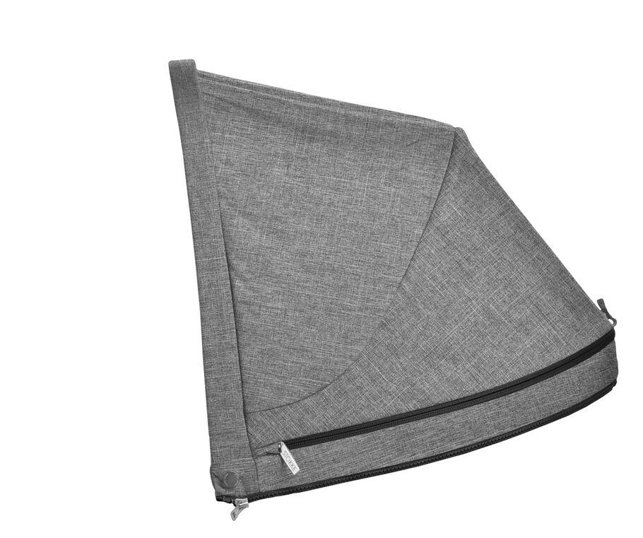 Stokke® Stroller Hood, Black Melange, mainview