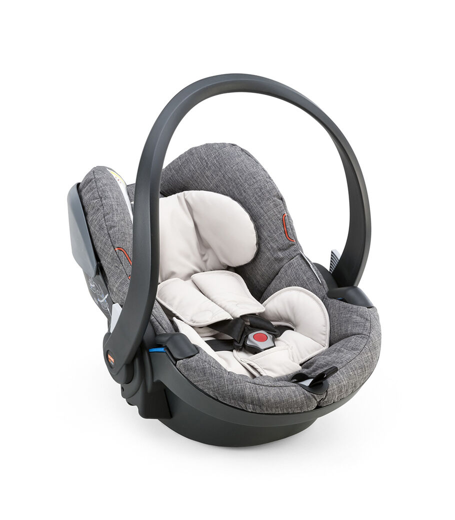 Car Seat, Black Melange.