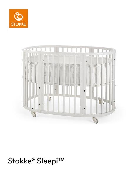 Stokke® Sleepi™ Bumper White, White, mainview view 11