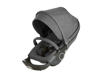 Stokke® Stroller Seat. Black Melange.
