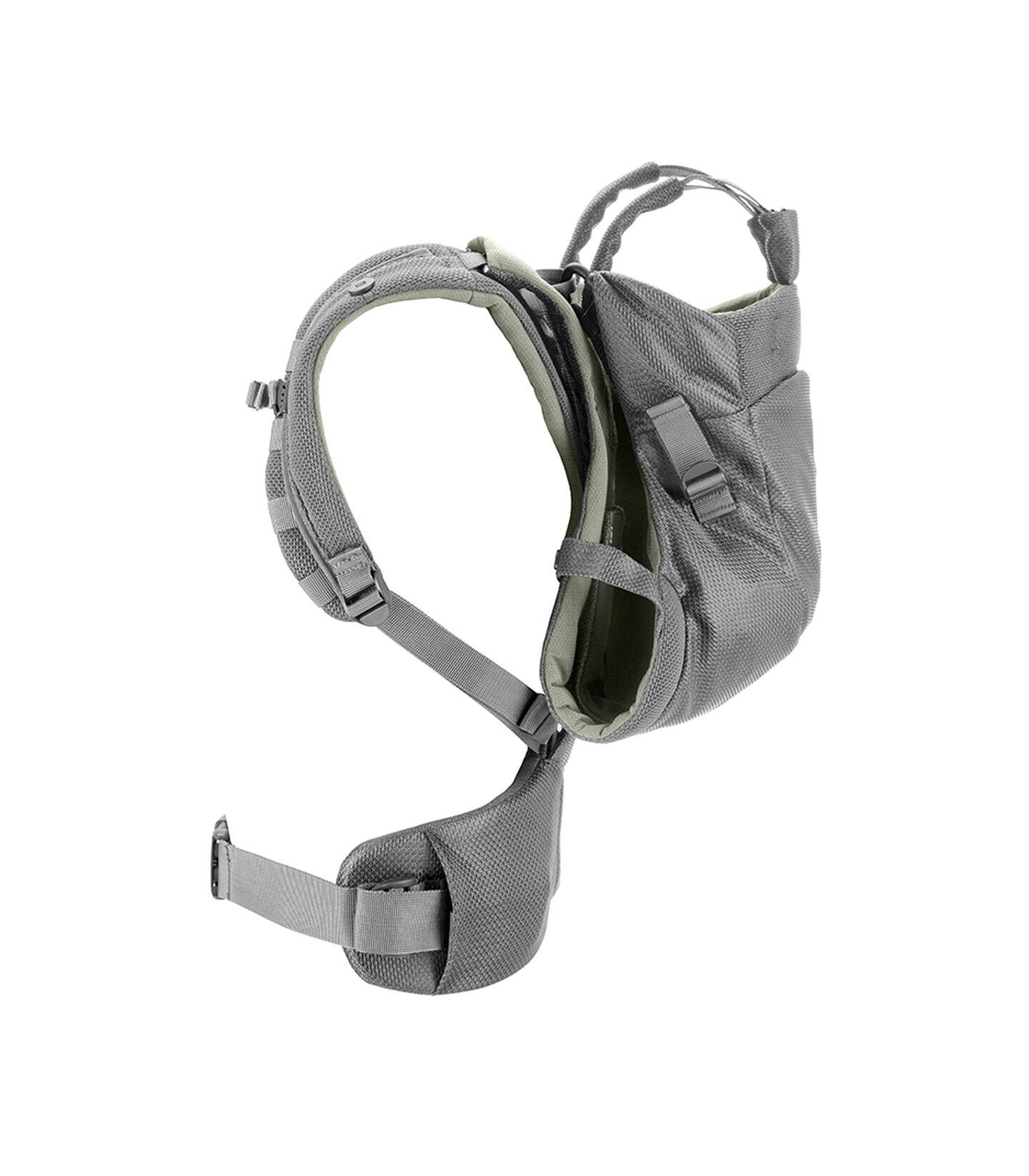 Stokke® MyCarrier™ Back Carrier Green Mesh. Profile.