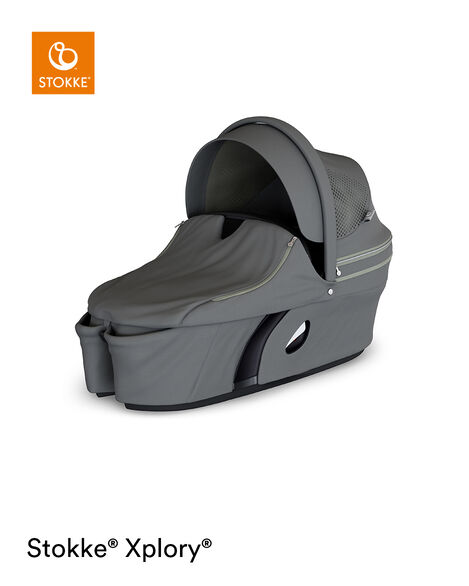 Stokke® Xplory® Carry Cot Complete Athleisure Green, Athleisure Green, mainview view 7