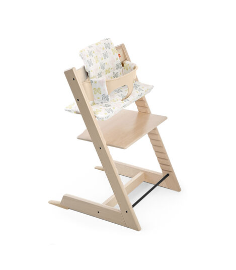 Tripp Trapp® Natural with Baby Set and CushionSweet Butterfly.