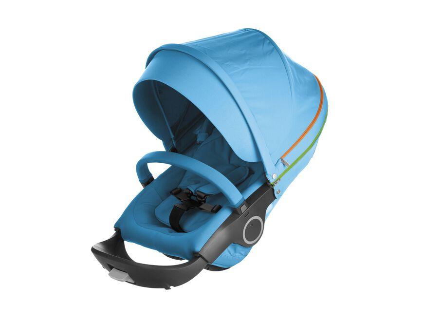 Stokke® Stroller Seat. Urban Blue.