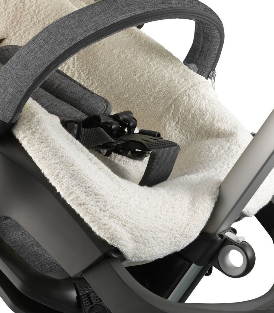 Stokke® Stroller Terry Cloth Cover. Detail.