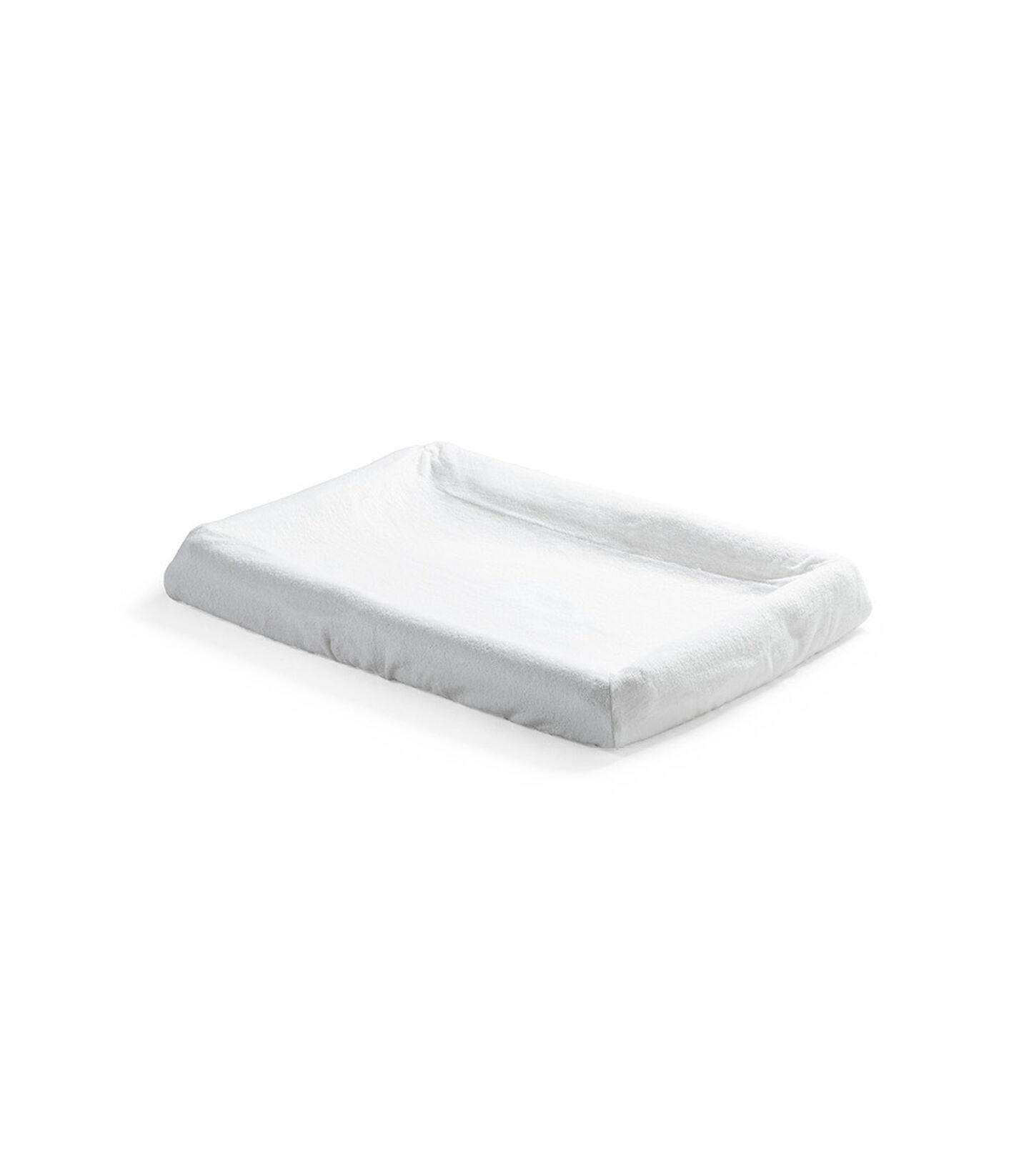 Stokke® Home™ Cambiador Funda Colchón 2p Blanco, , mainview view 1