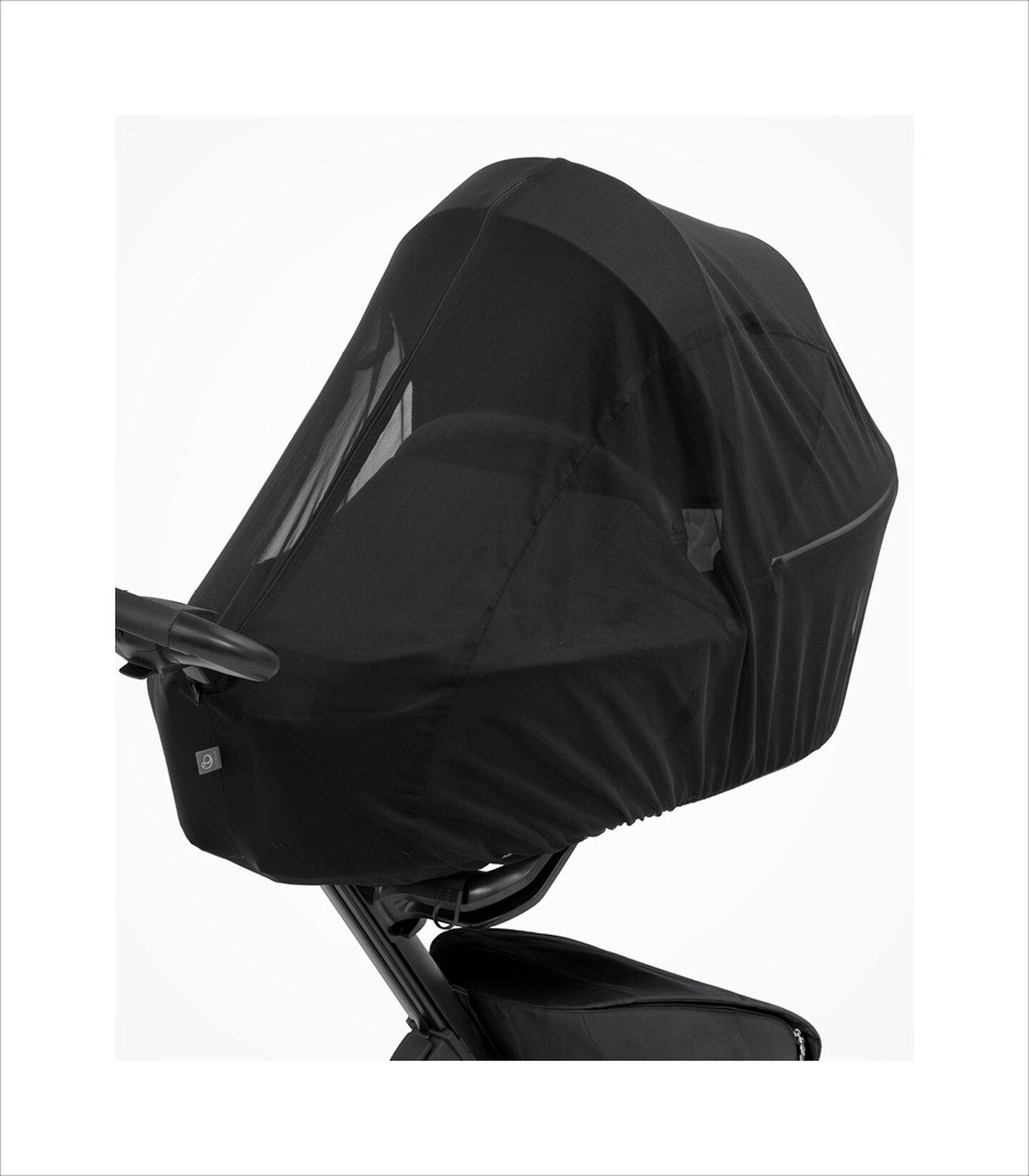 Stokke® Xplory® X Moskitonetz Black, Black, mainview view 3