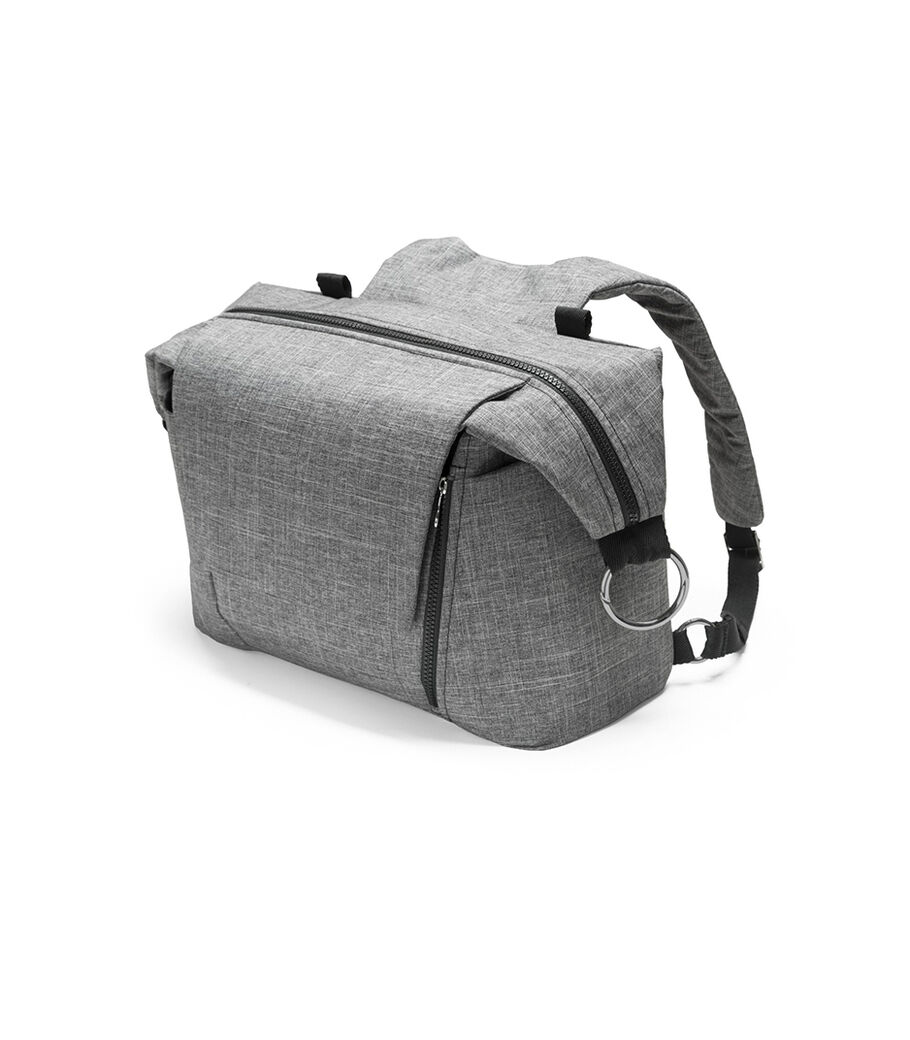 Stokke® Wickeltasche, Black Melange, mainview view 16