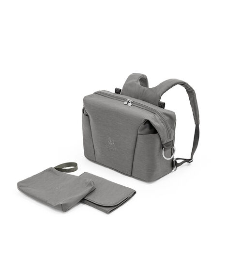 Stokke® Xplory® X Changing Bag Modern Grey. What's Included. Accessories.   view 4