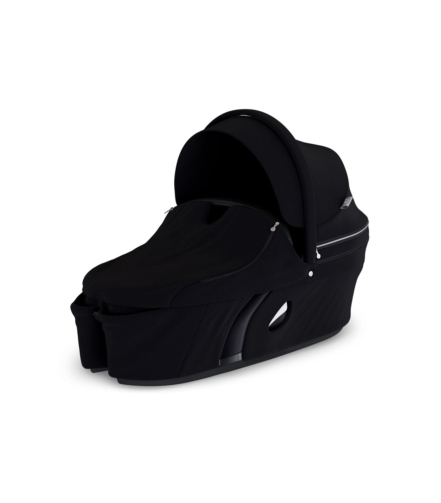 Stokke® Xplory® Carry Cot Black. With Storm Cover.