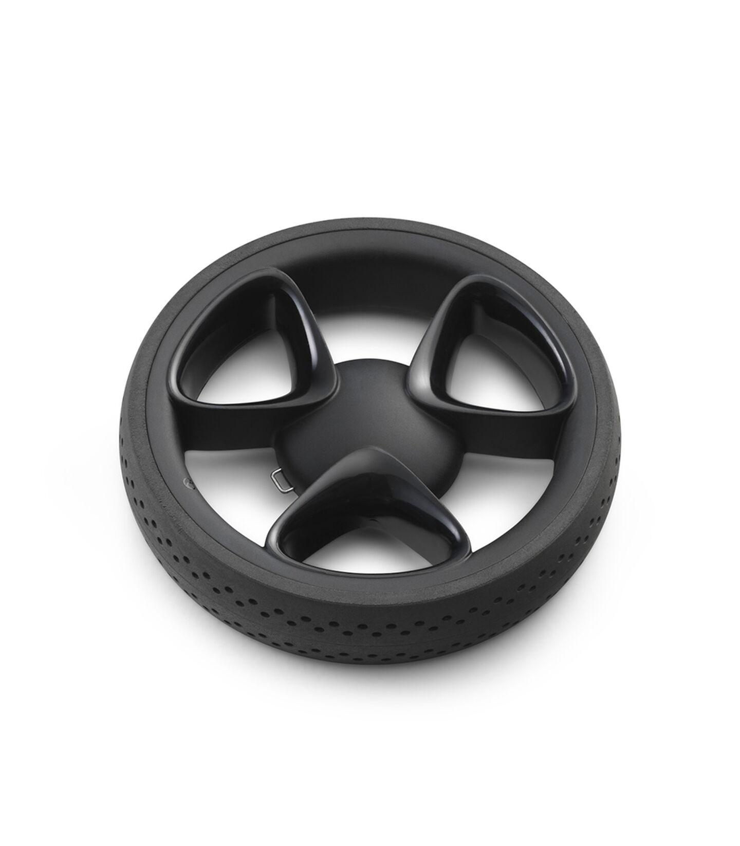 Stokke® Xplory® Back wheel complete Black, Noir, mainview view 1
