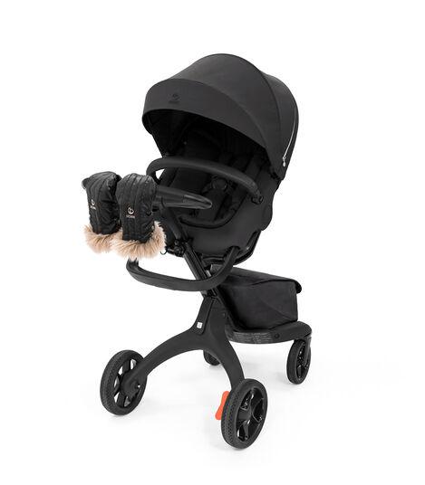 Stokke® Stroller Mittens, Onyx Black. Stokke® Xplory®. Accessories.  view 2