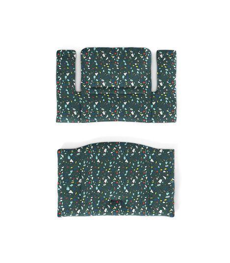 Tripp Trapp® Classic Cushion Terrazzo Petrol. Flatlay. view 2