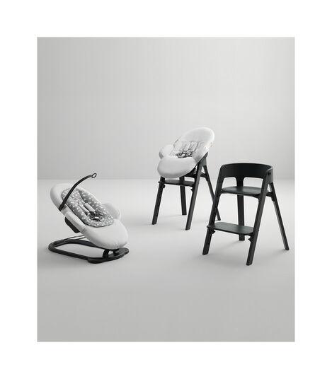 Chaise Stokke® Steps™ Noir, Noir, mainview view 9