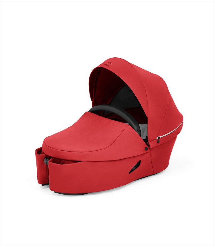 Stokke® Xplory® X Ruby Red Carry Cot.  view 1