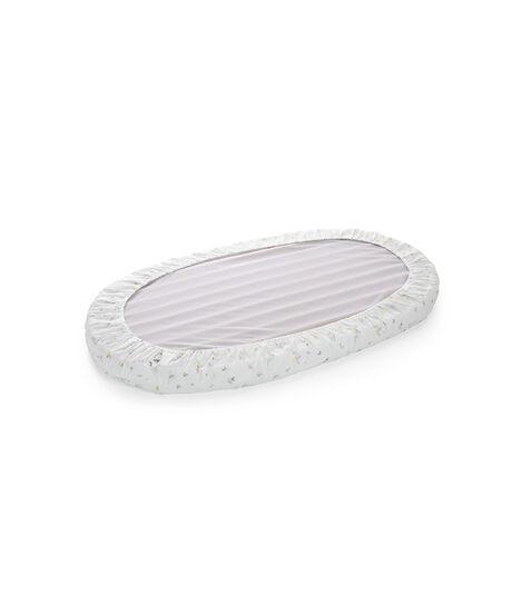 Stokke® Sleepi™ Bed Fitted Sheet. Soft Rabbit. Bottom side.