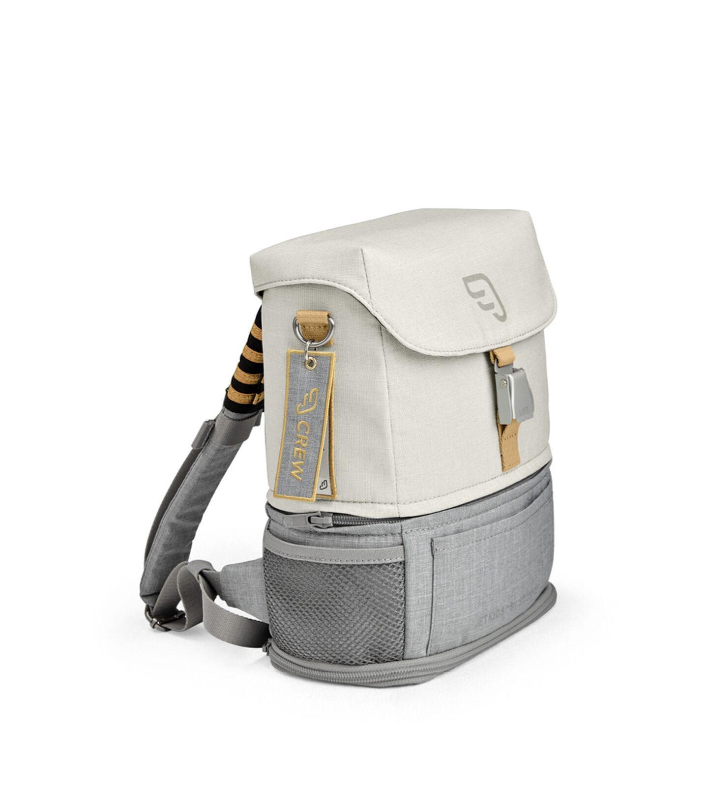 JetKids by Stokke® Crew Backpack Blanc, Blanc, mainview view 1