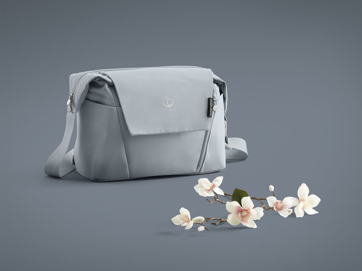 Stokke® Changing Bag Balance Limited Edition. Tranquil Blue.