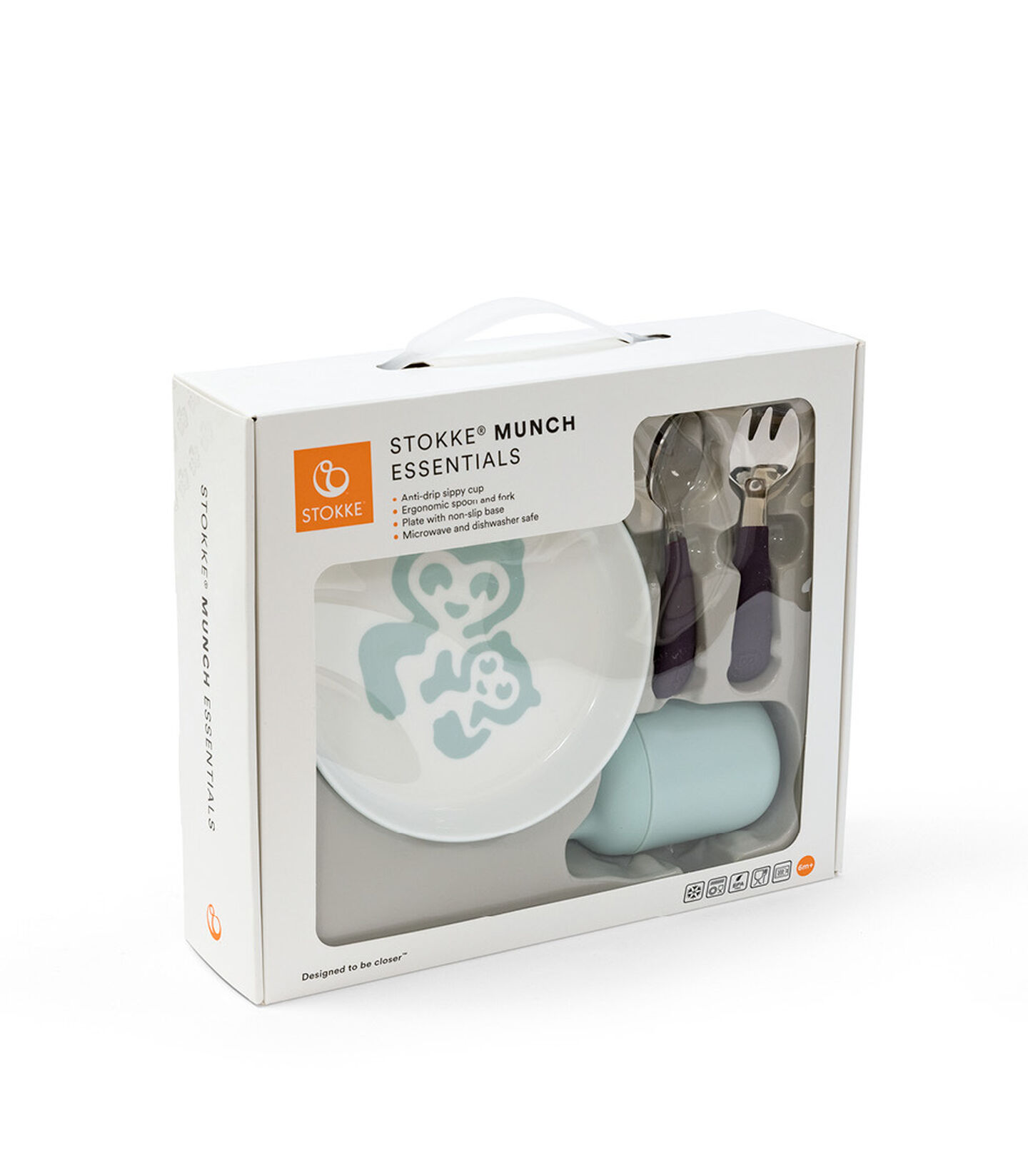 Stokke™ Munch™ Essentials in End User Packaging box