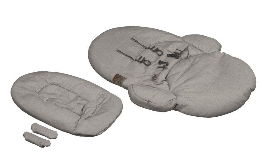 Stokke® Steps™. Textile Set Greige. Sparepart.