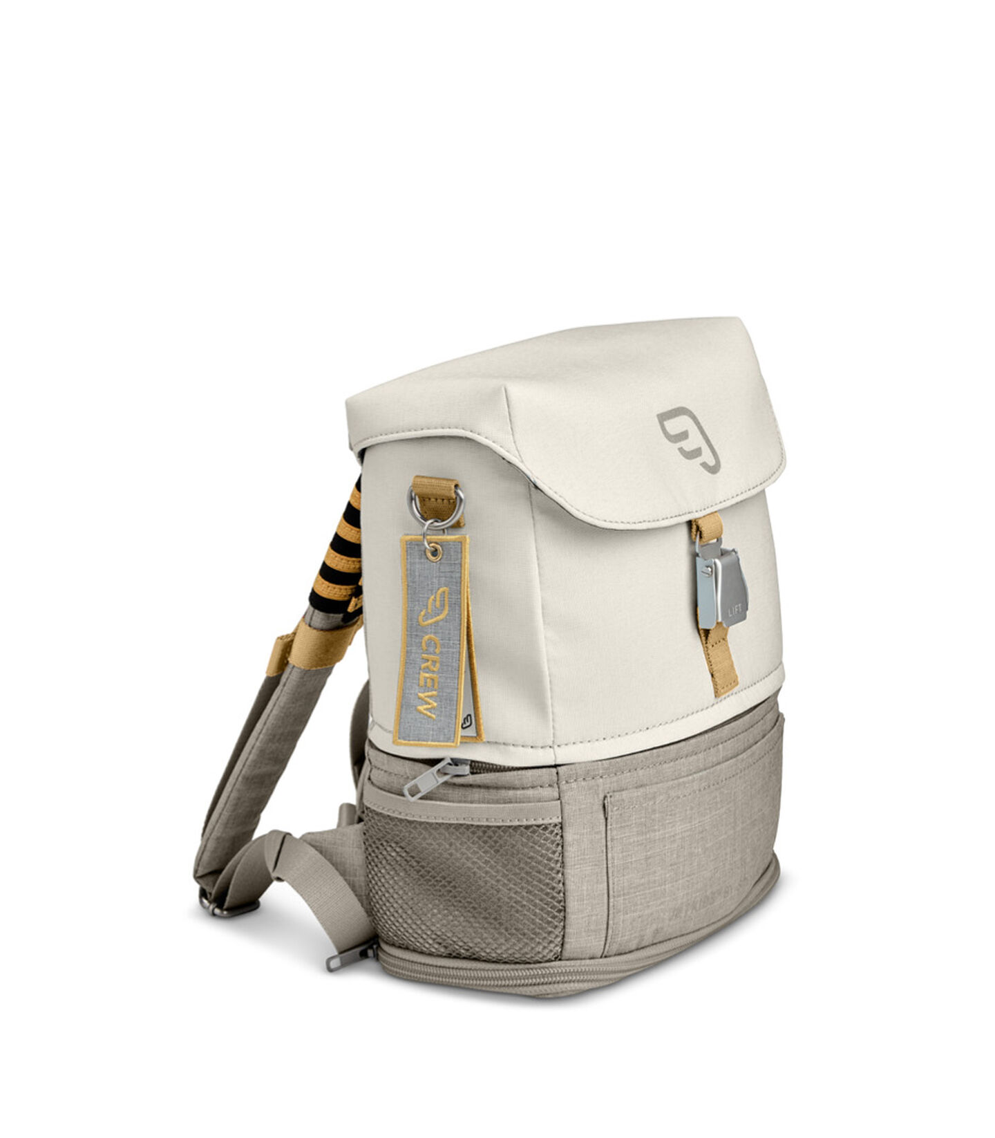 JetKids by Stokke® Crew Backpack ホワイト, ホワイト, mainview view 2