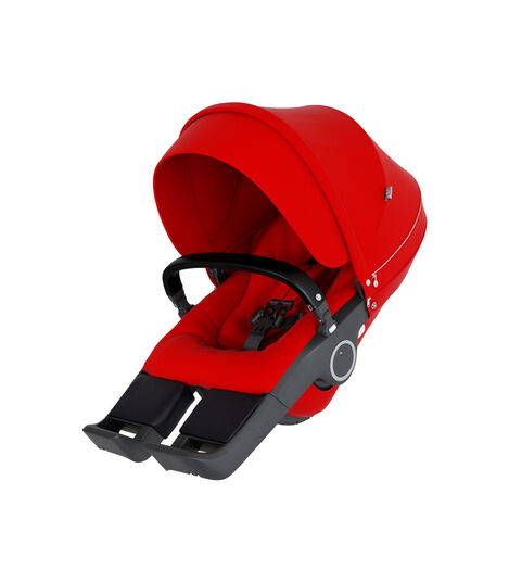 Stokke® Stroller Seat Red, Red, mainview view 3