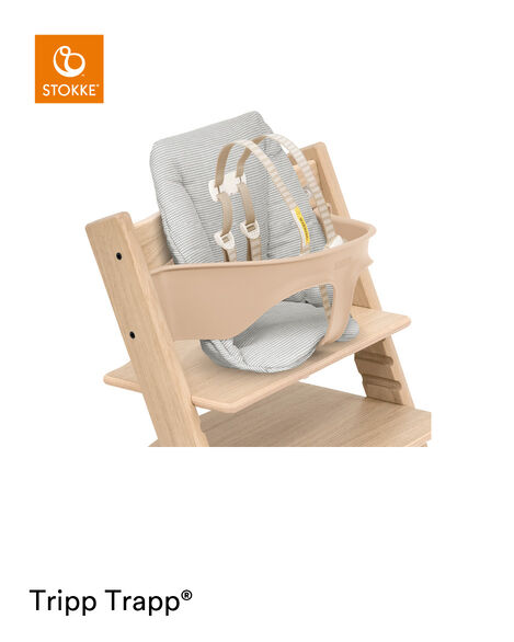 Tripp Trapp® Baby Cushion Nordic Grey, Nordic Grey, mainview view 6