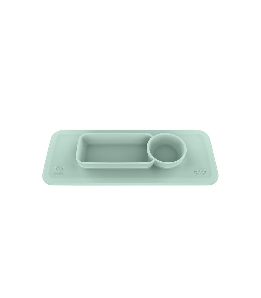 Set de table ezpz™ par Stokke™ pour Clikk™ Tray, Vert menthe, mainview view 25