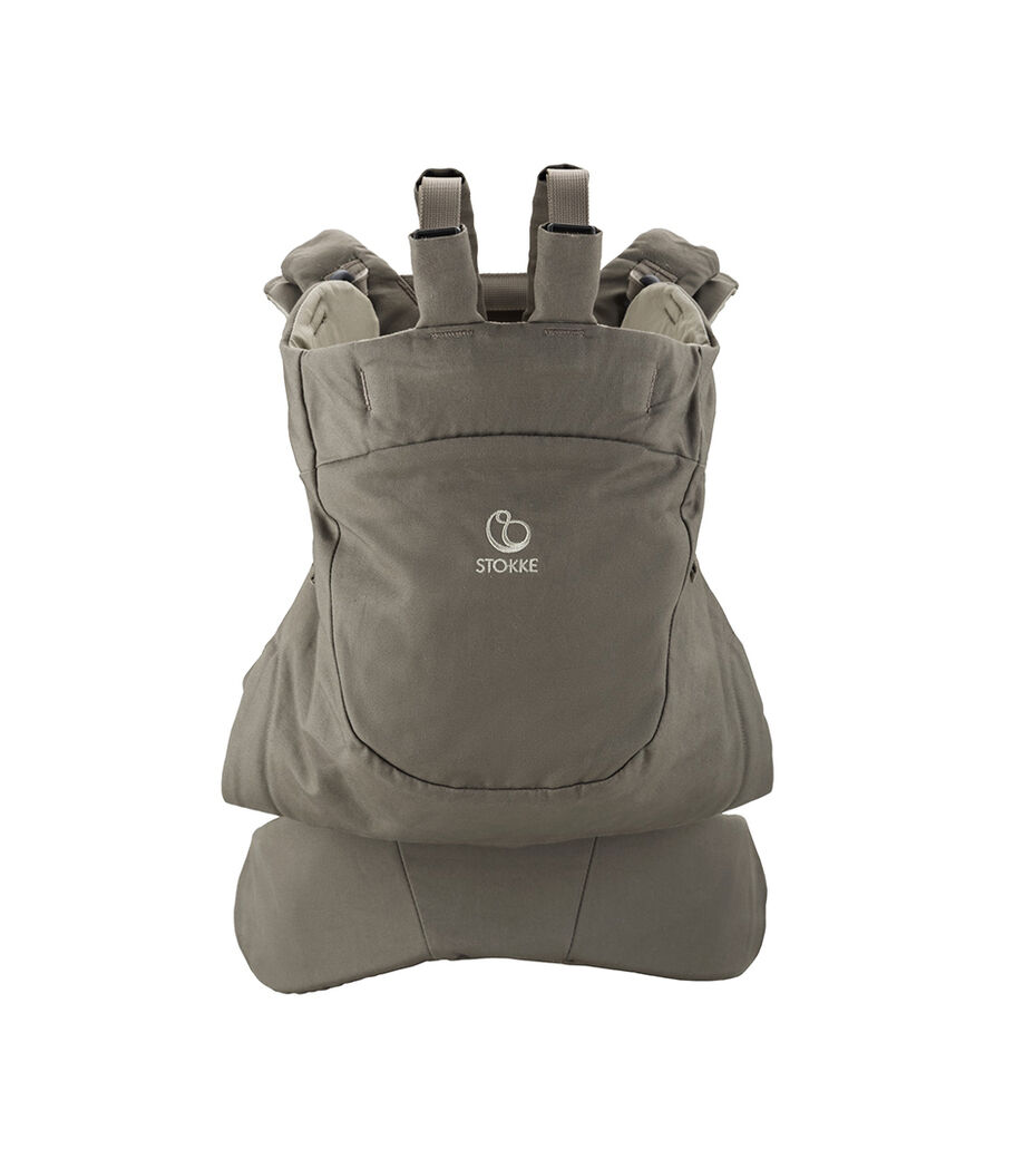 Эрго-рюкзак Stokke® MyCarrier™ Back для ношения на спине, Коричневый, mainview view 2