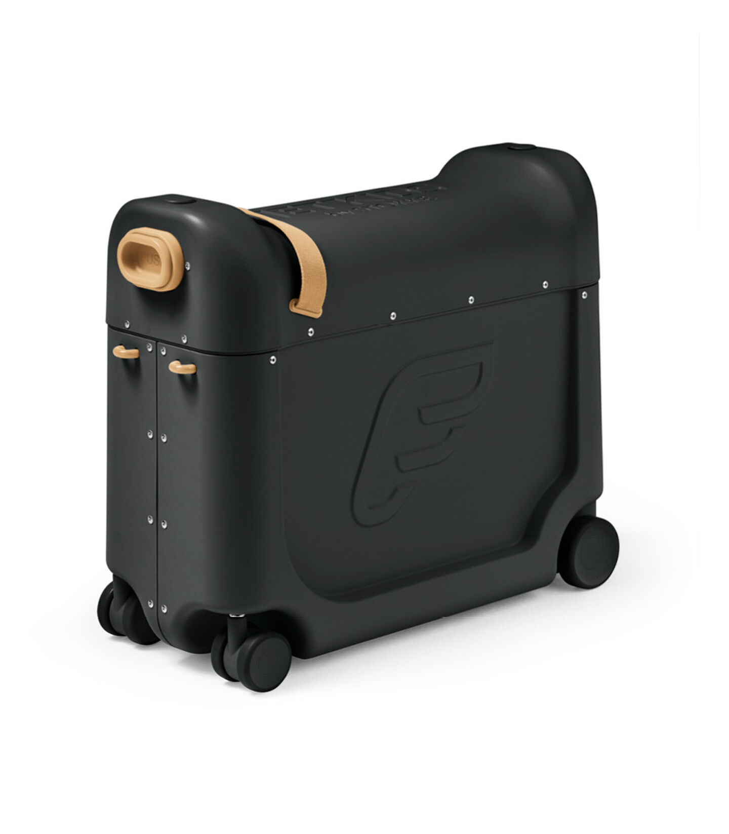 JetKids™ by Stokke® BedBox V3 in Lunar Eclipse Black. view 2