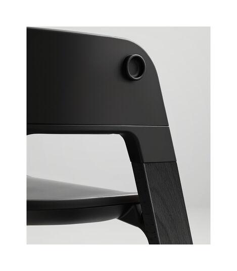 Stokke® Steps™ HC Complete Bundle Black w Grey Cushion, Black, mainview view 5