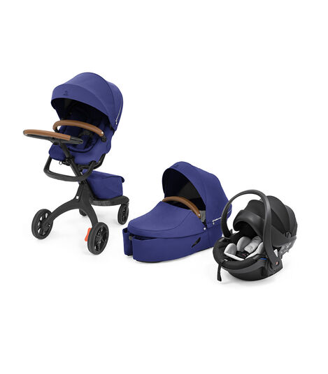 Kongeblå Stokke® Xplory® X, Royal Blue, mainview view 9