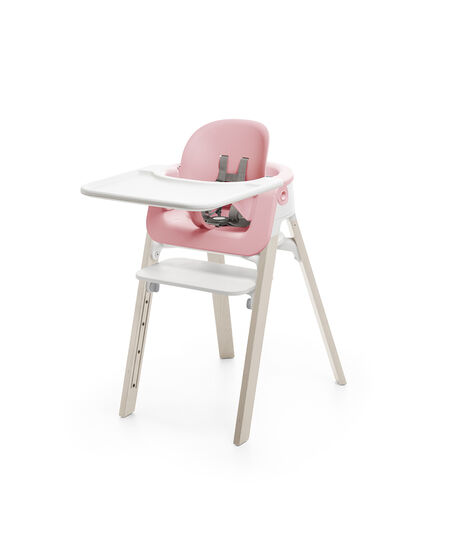 Accessories. Tray, Baby Set. Mounted on Stokke Steps highchair. view 4