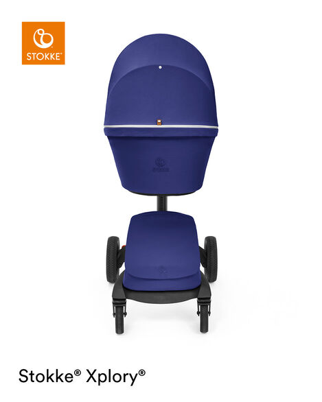 Stokke® Xplory® X Carry Cot Royal Blue, Royal Blue, mainview view 11