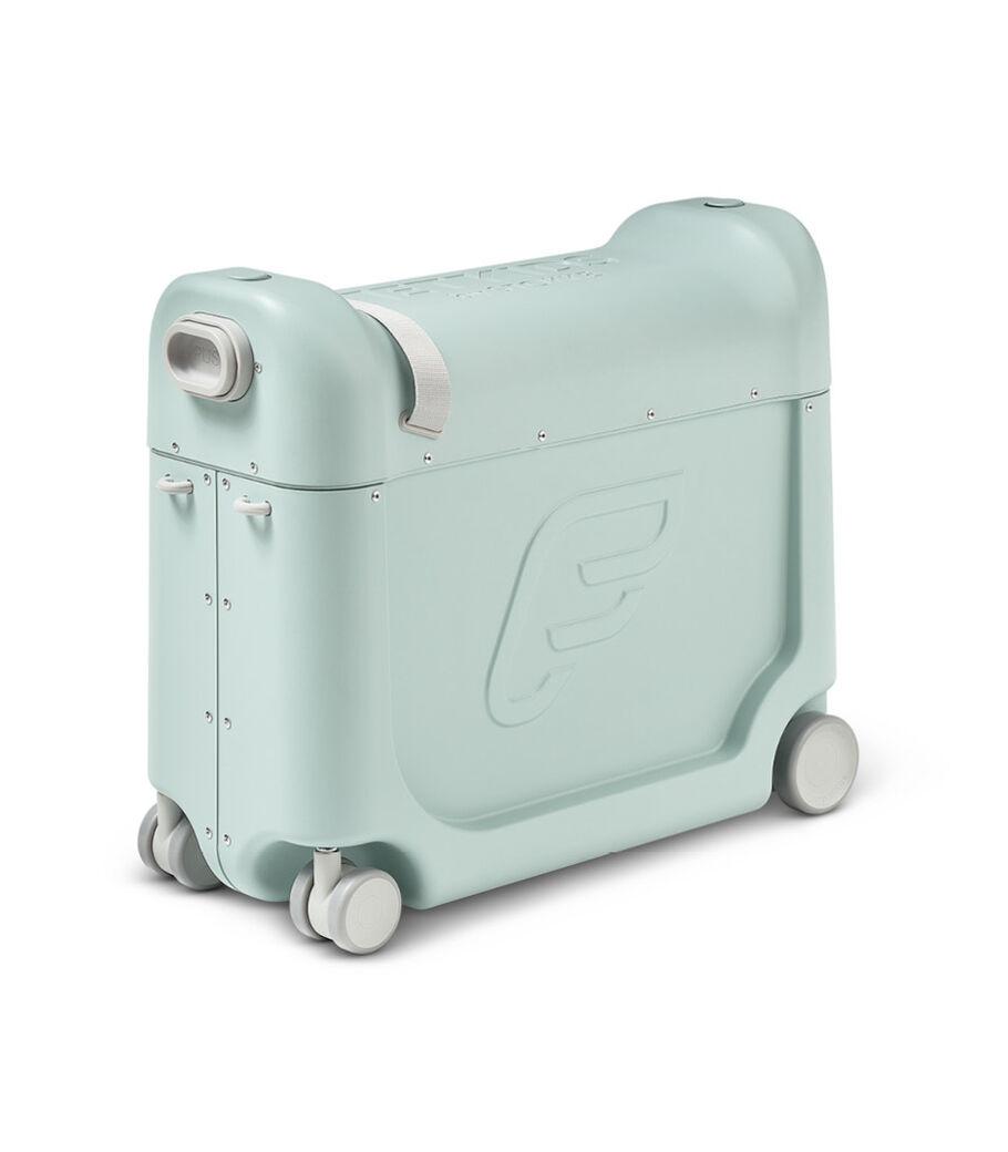 JetKids™ by Stokke® BedBox V3 in Green Aurora.
