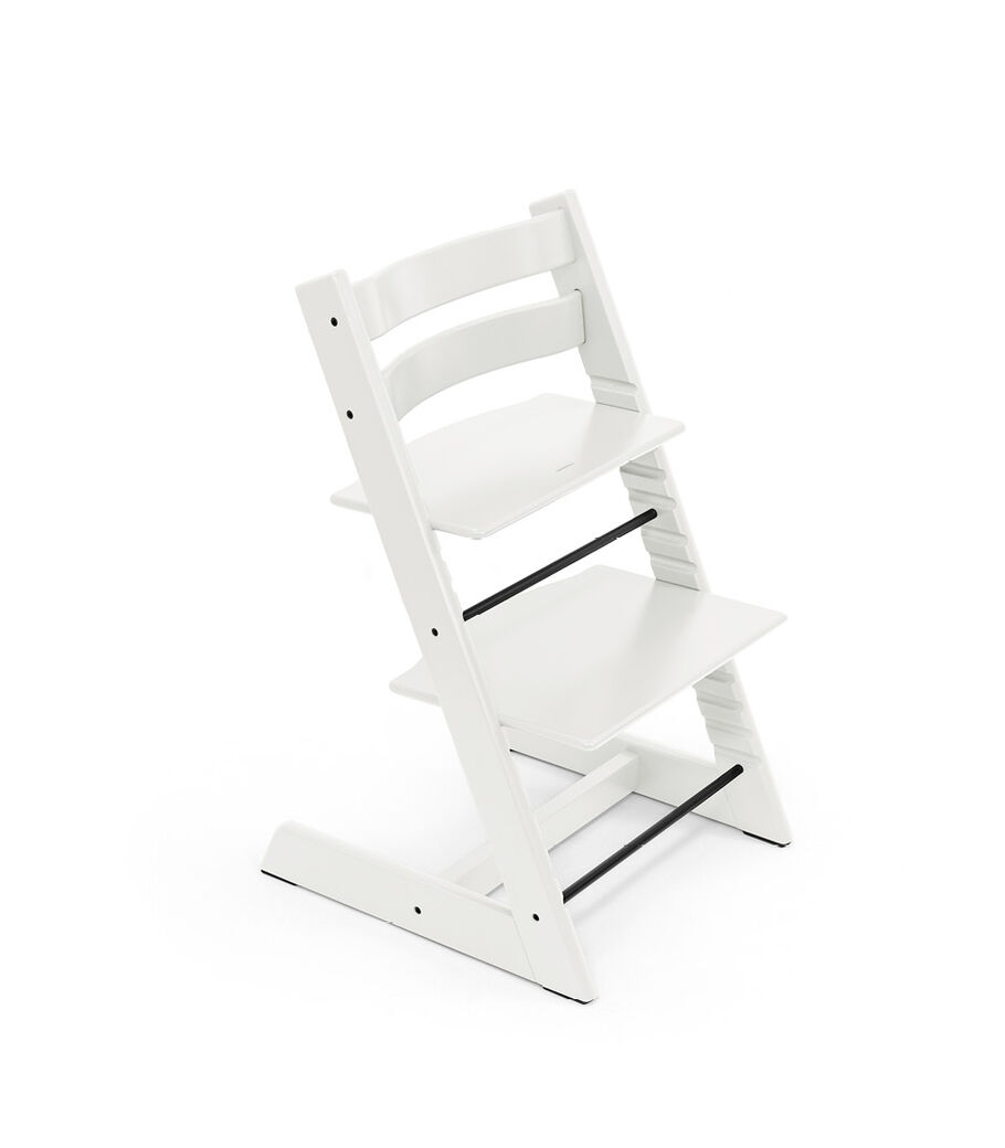 Tripp Trapp® chair White, Beech Wood. view 9