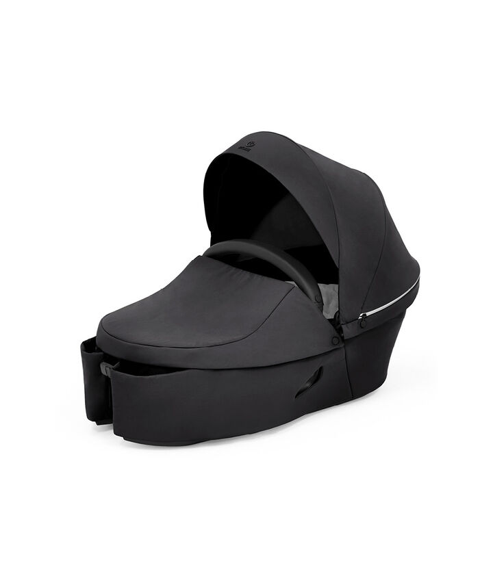 Stokke® Xplory® X Rich Black Carry Cot. view 1