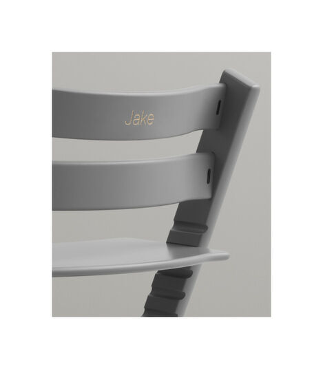 Tripp Trapp® Chair with engraving. Storm Grey.