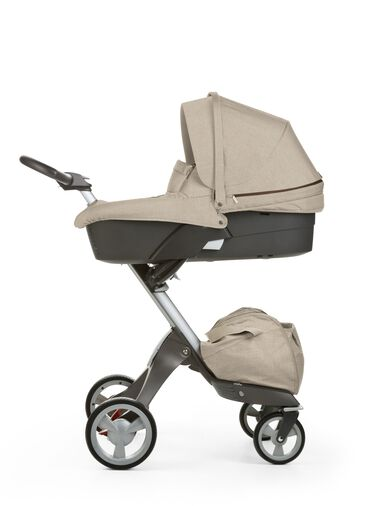 Carry Cot, Beige Melange.